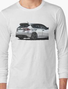 Subaru WRX STI Impreza Hatchback Long Sleeve T-Shirt
