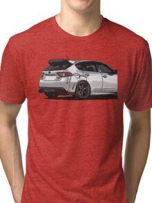 Subaru WRX STI Impreza Hatchback Tri-blend T-Shirt