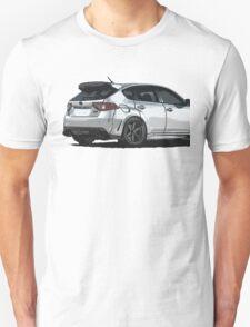 Subaru WRX STI Impreza Hatchback Unisex T-Shirt