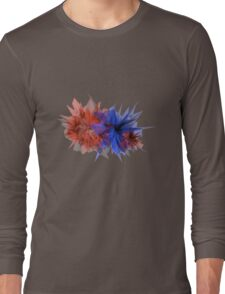 Color Collision Long Sleeve T-Shirt