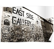 Berlin | East Side Gallery | Photography Poster
