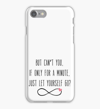 Let Yourself Go / Albert Camus iPhone Case/Skin