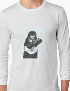 Steampunk Nun Long Sleeve T-Shirt