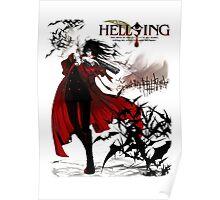 Hellsing Alucard Vampire Anime Poster
