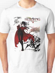 Hellsing Alucard Vampire Anime T-Shirt