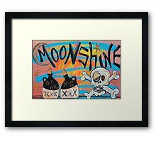 Moonshine Framed Print
