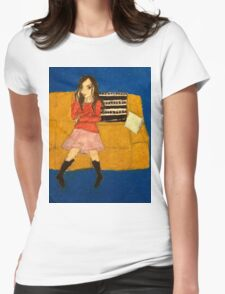 River Tam- Safe Womens Fitted T-Shirt