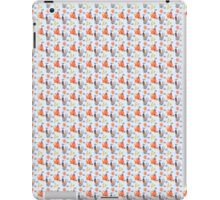 Dumb Bunny, Sly Fox (Blue) iPad Case/Skin