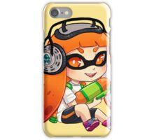 Squid Kid- Orange iPhone Case/Skin
