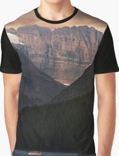 Sunrise Over Grinnell Glacier and Swiftcurrent Lake. Graphic T-Shirt