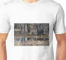 Trunks in the rain water Unisex T-Shirt