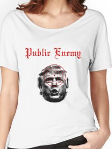 Public Enemy Women's Relaxed Fit T-Shirt