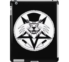JACK THE RIPPER CULT CAT iPad Case/Skin