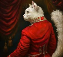 The Hermitage Court Chamber Herald Cat Edited version by Ldarro