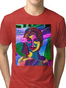 RAINBOW WOMAN Tri-blend T-Shirt
