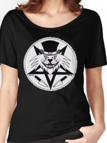 JACK THE RIPPER CULT CAT Women's Relaxed Fit T-Shirt