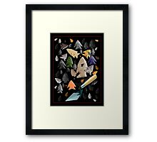 Stone Tools Framed Print