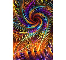 """Pinwheel Dreams"" -  Abstract Spiral Fractal Art Photographic Print"