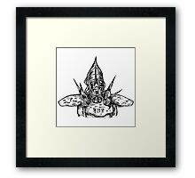 Telvanni Guard Framed Print