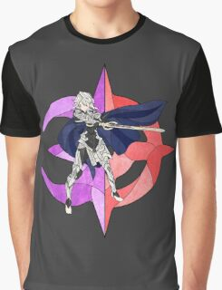 Stained Glass Male Corrin Graphic T-Shirt