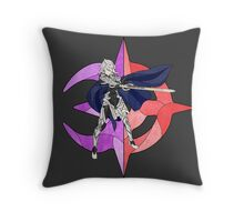 Stained Glass Male Corrin Throw Pillow