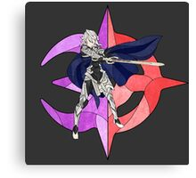 Stained Glass Male Corrin Canvas Print