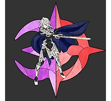 Stained Glass Male Corrin Photographic Print