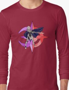 Stained Glass Male Corrin Long Sleeve T-Shirt
