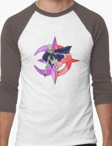 Stained Glass Male Corrin Men's Baseball ¾ T-Shirt