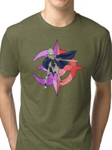 Stained Glass Male Corrin Tri-blend T-Shirt