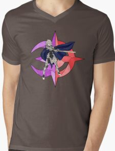 Stained Glass Male Corrin Mens V-Neck T-Shirt