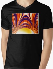 Color and Form Abstract - Solar Gravity and Magnetism 4 Mens V-Neck T-Shirt