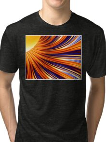 Color & Form Abstract - Solar Gravity & Magnetism 3 Tri-blend T-Shirt