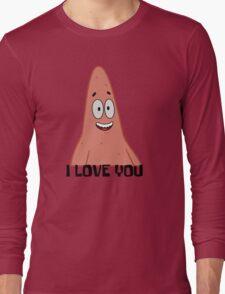 Patrick Loves You - Spongebob Long Sleeve T-Shirt