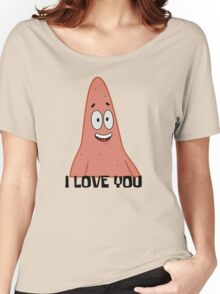 Patrick Loves You - Spongebob Women's Relaxed Fit T-Shirt