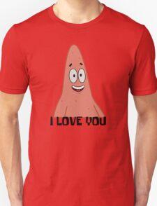 Patrick Loves You - Spongebob Unisex T-Shirt
