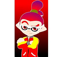 Splatoon - Inkling boy  Photographic Print