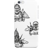 Guards of the Great Houses of Morrowind  iPhone Case/Skin
