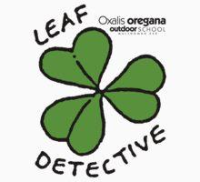 Redwood Sorrel - Leaf Detective One Piece - Short Sleeve