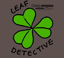 Redwood Sorrel - Leaf Detective Long Sleeve T-Shirt