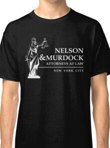 Nelson & Murdock Attorneys Classic T-Shirt