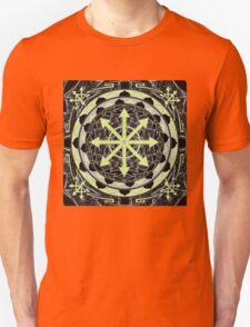 Chaos star mandala 23 Unisex T-Shirt