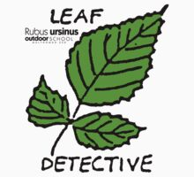 Trailing Blackberrry - Leaf Detective One Piece - Short Sleeve
