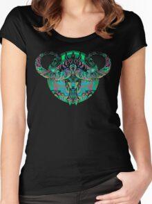 Neon Demoness Women's Fitted Scoop T-Shirt