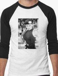 CAMMY STREET FIGHTER KYLIE MINOGUE Men's Baseball ¾ T-Shirt