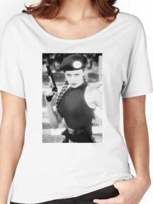 CAMMY STREET FIGHTER KYLIE MINOGUE Women's Relaxed Fit T-Shirt