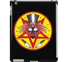 JACK THE RIPPER CULT CAT IN COLOR iPad Case/Skin