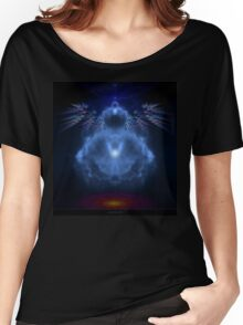 Buddhabrot Fractal Mandelbrot  - Digital Art Women's Relaxed Fit T-Shirt
