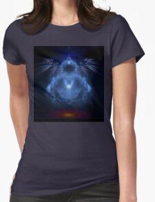 Buddhabrot Fractal Mandelbrot  - Digital Art Womens Fitted T-Shirt