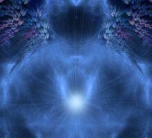 Buddhabrot Fractal Mandelbrot  - Digital Art Sticker